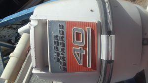 40 hp boat motor for Sale in Mesa, AZ