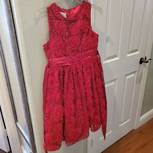 Girls Red Sequin Dress size 14 for Sale in North Las Vegas, NV