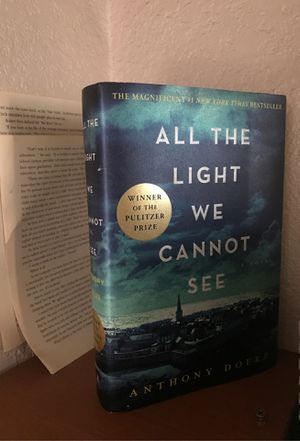 All the light we cannot see hard cover book. ANTHONY DOERR for Sale in San Francisco, CA