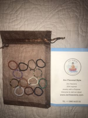 Natural stone rings for Sale in Kirkland, WA