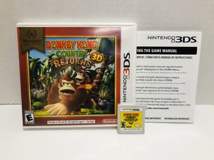 Donkey Kong country 3DS for Sale in Chula Vista, CA