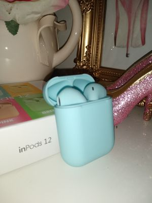 New Wireless Earphones Sky blue for Sale in Commerce, CA