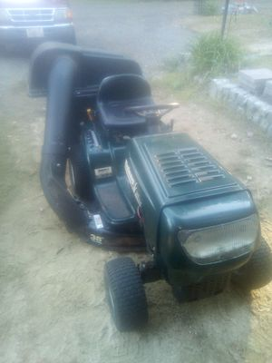Well working tractor with bag attachment for Sale in West Greenwich, RI