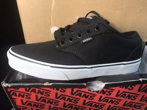 Brand new Men's black Atwood van's shoes size 8 for Sale in Riverside, CA