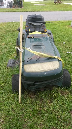 Craftsman riding lawn mower for parts or repair for Sale in Haines City, FL