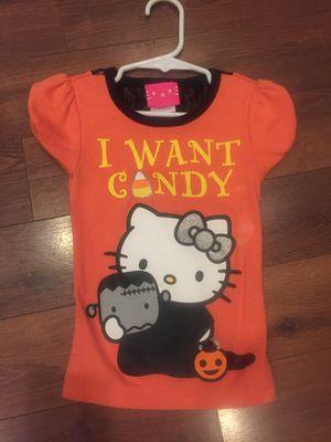 Hello kitty Halloween T-shirt. Size 4 for Sale in Buckeye, AZ