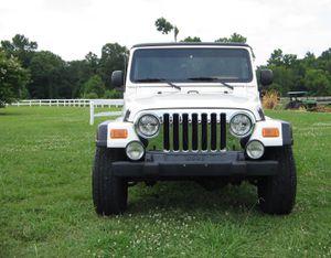Works Great 2003 Jeep Wrangler Rubicon 4WDWheels4 for Sale in Washington, DC