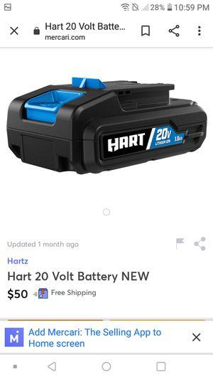 Batteries Hart 20v powertool for Sale in Spokane, WA