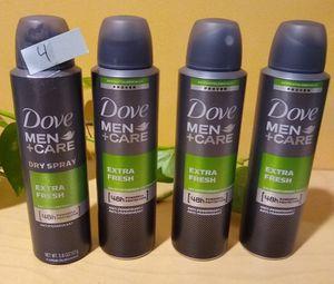 Dove man deodorant $4 each for Sale in Gardena, CA