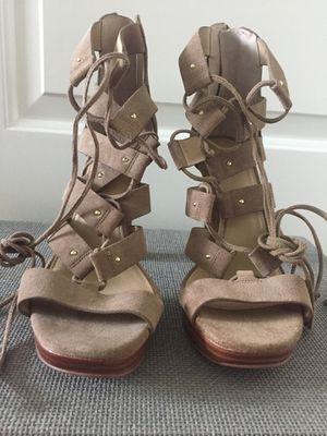 Michael Kors Womens Suede Strap High Heels Sandals - Size 7 for Sale in Atlanta, GA