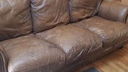 Leather Couch for Sale in Estacada,  OR