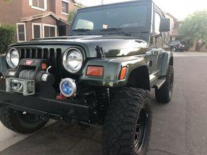 1997 Jeep Wrangler Sahara for Sale in Chandler, AZ