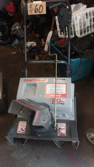 Electric snowblower for Sale in Manchester, PA