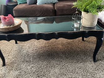 Glass Top Coffee Table for Sale in Vancouver,  WA