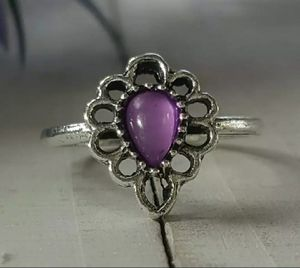 Bohemian Finger Ring with Crystal, Size 7 for Sale in Wichita, KS