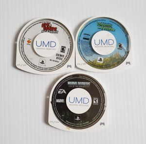 PSP Lot Of 3 Ape Escape Academy, , Marvel Nemesis, Shrek The Third Disc Only. for Sale in Adelphi, MD