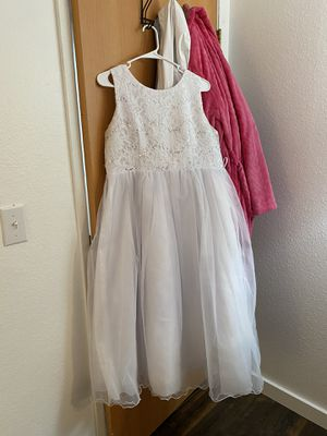 Flower girl wedding dress for Sale in Tacoma, WA