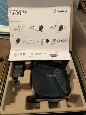 Belkin N600 Router for Sale in Portland, OR