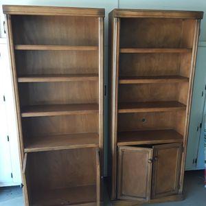 Bookshelves (shelf/cabinet), Media Shelves for Sale in Sun City, AZ