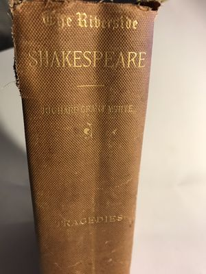 The Riverside - Tragedies- Shakespeare 1883 for Sale in San Francisco, CA