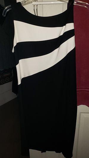 Jones New York black & white dress for Sale in Philadelphia, PA