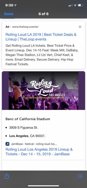 2 tickets for Sale in Anaheim, CA