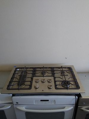 Stainless steel flat top gas stove for Sale in Tampa, FL