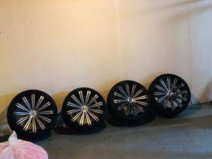 20in Borghini Chrome Rims for Sale in Detroit, MI
