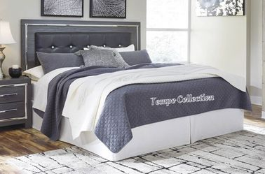 NEW IN THE BOX.STYLISH GREY QUEEN BED FRAME. SKU#TCB214-QUEEN for Sale in Huntington Beach,  CA
