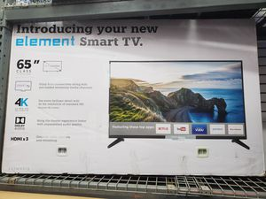 """AMAZING DEAL. 65"""" 65"""" LED SMART 4K ULTRA HDTV AVAILABLE BY ELEMENT. BRAND NEW for Sale in Los Angeles, CA"""