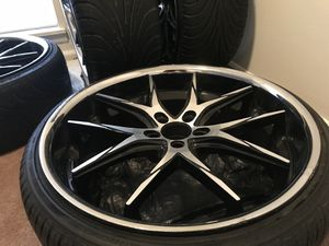 "22"" Lexani R-Twelve Rims w/ tires for Sale in Casselberry, FL"