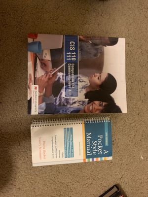Composition and communication I & II and APA version pocket manual seventh edition for Sale in Lexington, KY