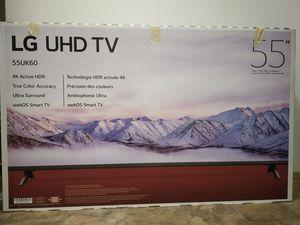 "LG 55"" 4K UHD SMART TV 55UK60 Model for Sale in Renton, WA"