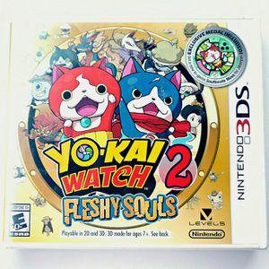 Yo Kai Watch Fleshy Souls 2 Nintendo 3DS for Sale in San Diego, CA