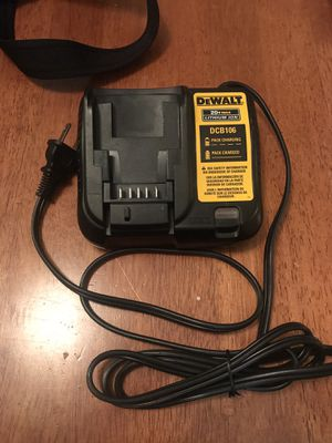 DeWalt 20v battery charger for Sale in San Jose, CA