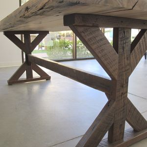 Reclaimed Barnwood Dining Table - Made in U.S.A. for Sale in Las Vegas, NV