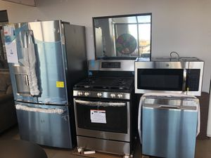 NEW GE KITCHEN PACKAGE FOR ONLY $160 monthly payment for Sale in North Las Vegas, NV