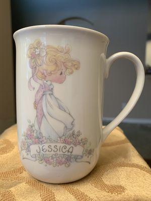 "1990 Precious Moment cup ""Jessica"" for Sale in McKinney, TX"