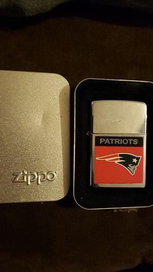Zippo NFL Patriots lighter for Sale in Magna, UT