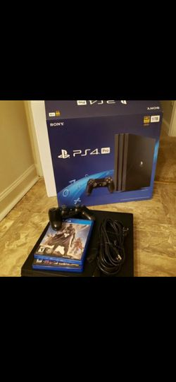Playstation 4 new pro edition for Sale in Jersey City,  NJ