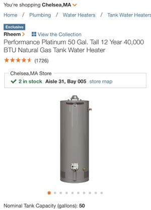 Hot water heater for Sale in Boston, MA