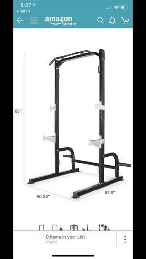 Pro squat rack home gym equipment for Sale in Mercer Island, WA