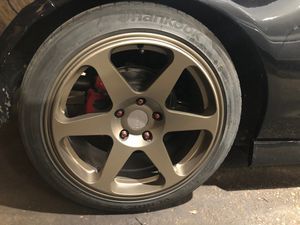 21545zr17 wheels w/ hankook ventus tires for Sale in Chicago, IL