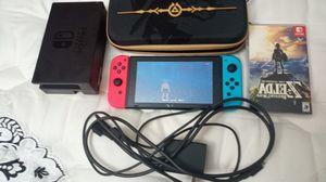 Nintendo Switch + Zelda Botw + Case + More for Sale in Aurora, CO