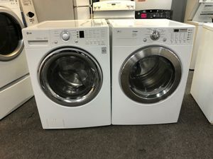 WASHER AND DRYER ELECTRIC GOOD CONDITION 90 DAYS OF WARANTY SE HABLA ESPAÑOL for Sale in Brooklyn, MD