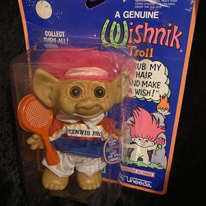 Wishnik troll Tennis Expert for Sale in Portland, OR