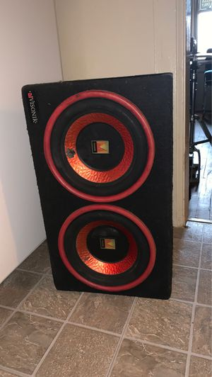 Car speakers 10s for Sale in Greensboro, NC