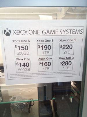 Microsoft xbox1 for Sale in Oklahoma City, OK