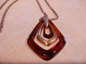 Vintage Avon necklace with bakelite pendant for Sale in Belton, SC
