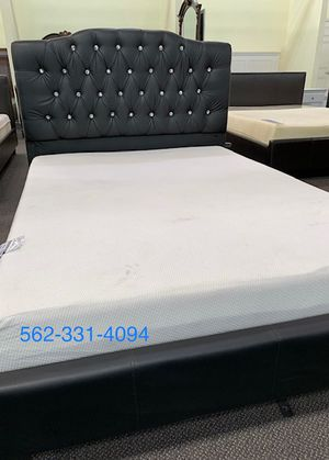 ⚡New Tufted Full Bed with Orthopedic Supreme Mattress Included ⚡ for Sale in Fresno, CA